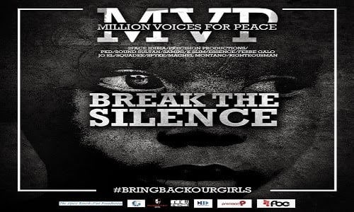 2Face Idibia MVP Break The Silence BringBackOurGirls - 2Face Idibia MVP Break The Silence #BringBackOurGirls