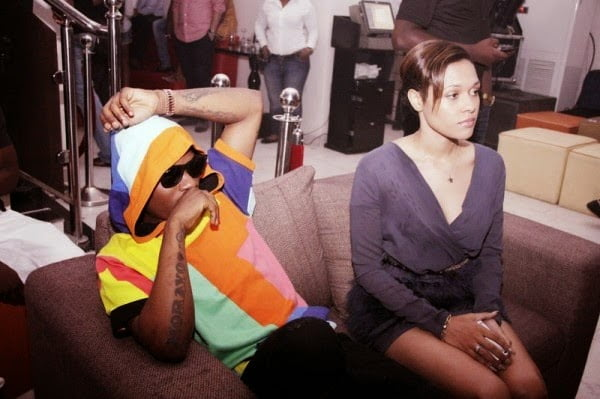 Wizkid and girlfriend Tania Omotayo - PICTURES: Wizkid & Girlfriend Having Fun At His Birthday Party