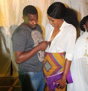 Dumelo Grabs Yvonne Nelson's Boobs - Dumelo Grabs Yvonne Nelson's Boobs