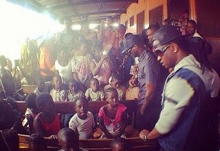 Photo of Psquare, Davido donates to Orphanages in Cameroon, Ivory Coast