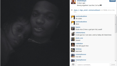 Photo of Wizkid shares photo of his Son on instagram
