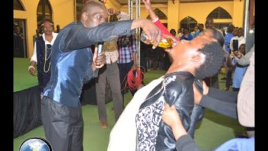 Photo of VIDEO: South African Pastor made Pastor ( Lesego Daniel ) made Congregants drink petrol and Some Say It Tastes like Juice