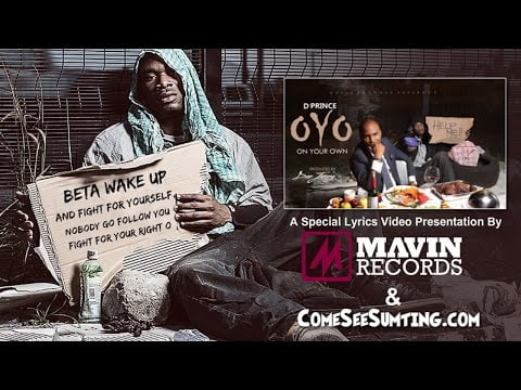 0 7 - VIDEO: D'Prince - OYO Lyrics Video