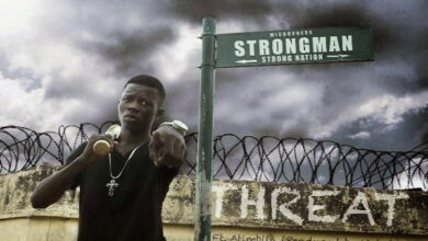 Photo of Strongman – Threat Ft. Atimbila (Prod by Wyes)