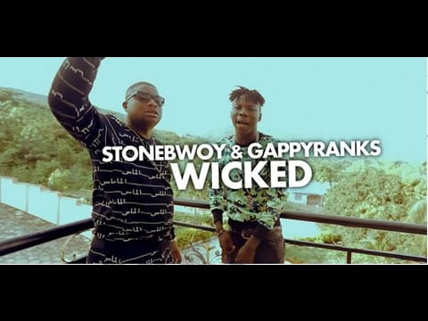 0 38 - ▶ VIdeo: Wicked - Stonebwoy & Gappy Ranks