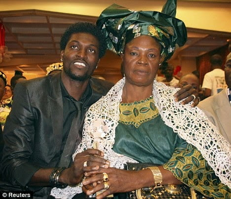 "Adebayorsacksmotheroverjujuclaims - Adebayor sacks mother over ""juju"" claims"