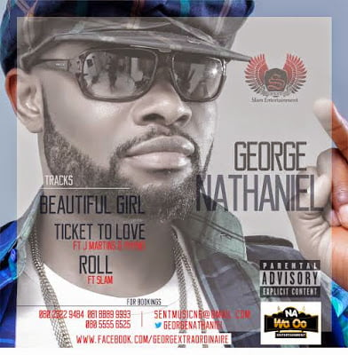 George Nathaniel Singles Art - George Nathaniel - Ticket 2 Love ft. J. Martins & Phyno