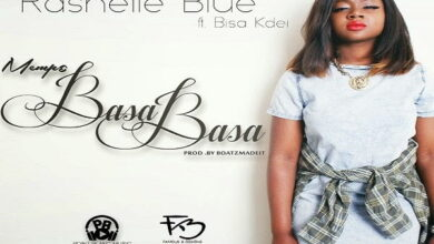 Photo of Rashelle Blue - Mempɛ BasaBasa ft. Bisa Kdei