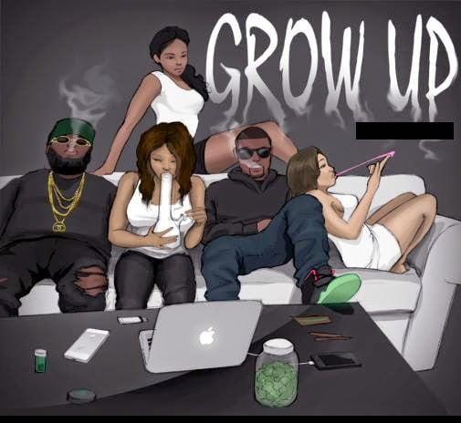 SHattaWale GROWUPwww.blissgh.com  - Music: SHatta Wale - GROW UP