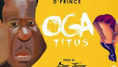 Photo of Music: D'prince – Oga Titus (prod by Don Jazzy)