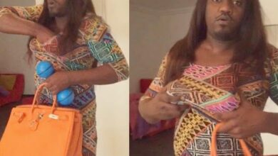 Photo of Yvonne Nelson And John Dumelo switch Clothes #MeloVon moments