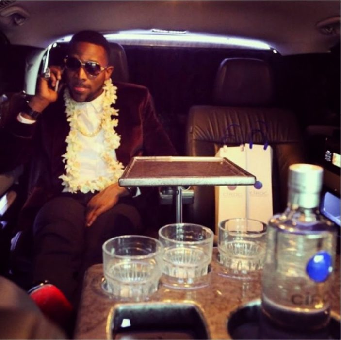 TheDBRecordsbosshasdescribedhisnewcarasa'custommadejetontheroad'. - D'banj Acquires new 'Custom Made Jet on the Road'