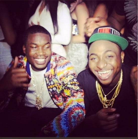 MeekMillTweetsCollaborationWithDavido - Meek Mill Tweets Collaboration With Davido