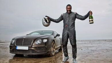 Photo of Idris Elba Breaks 88 year old UK Driving record.. In a $270,000 Bentley