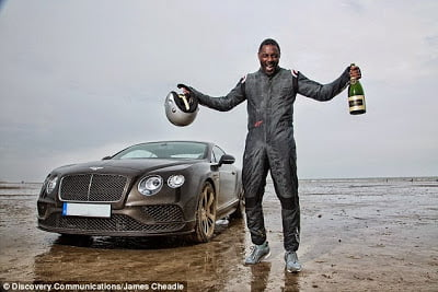 idriselba - Idris Elba Breaks 88 year old UK Driving record.. In a $270,000 Bentley