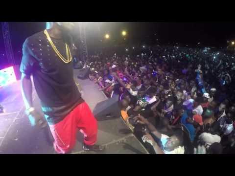 0 23 - vIDEO: Shatta Wale Thrills Fans In Gabon #CrowdControl