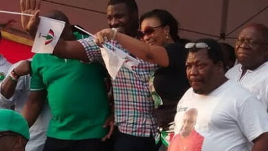 "Photo of Top actor John Dumelo and others spotted at NDC ""RALLY"""