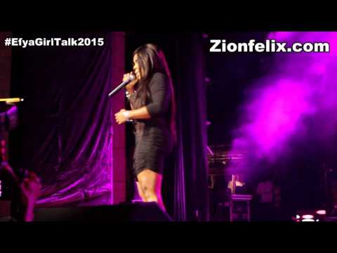 Photo of Video: Afia Schwarzenegger performs at Girl Talk 2015