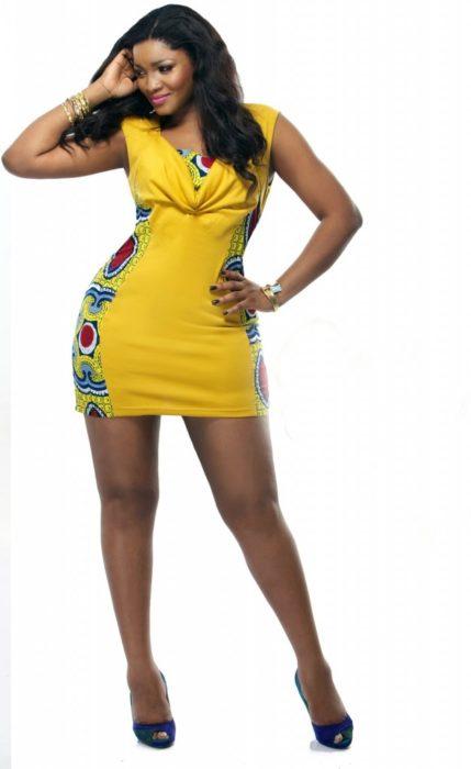"""Omotola Jalade Ekeinde Nollywood Star Actress1 627x1024 - BuZz: Omotola """"Omo Sexy""""  No Longer Sexy - Fans"""