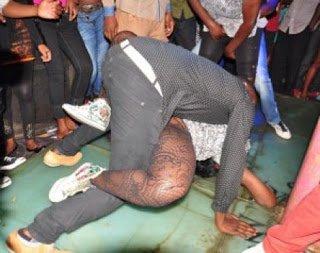 PhotoUgandanComedianHavingE28098SexE28099OnStage - Ugandan Comedian Has 'Sex' On Stage