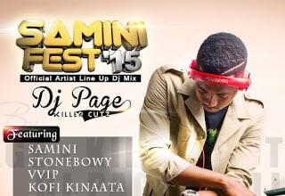 Photo of Dj Page - Samini Fest'15 (Mix)