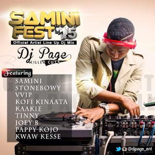 Dj Page - Samini Fest'15 (Mix)
