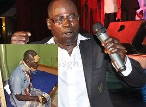 Photo of Photo: Amakye Dede Escapes death, loses Manager in fatal accident