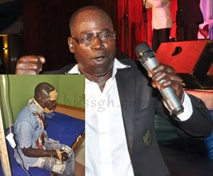 AmakyeDede1 - Photo: Amakye Dede Escapes death, loses Manager in fatal accident