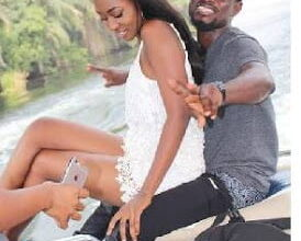 Photo of Bismark The Joke caught sharing romantic moments with TV Presenter