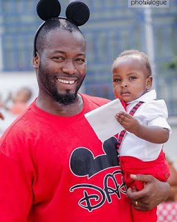 Photo of Actor Adjetey Annan shares Photos of Son