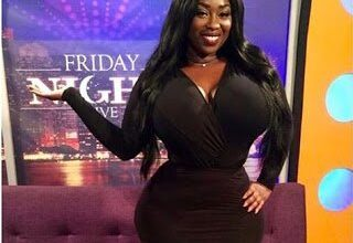 Photo of TV Personality ''Peace Hyde'' for ''International Business Woman of the year''