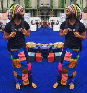 Photo of Wanlov sacked from 'Kempinski Hotel' for his 'Shoeless' habit