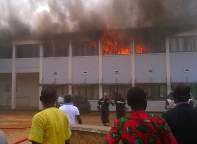 Photo of Fire destroys two high Court Judges chambers in Kumasi