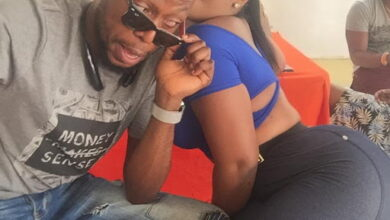 Photo of Pic of the Day: Eeei see what Kalybos is doing to Moesha Boduong on Instagram