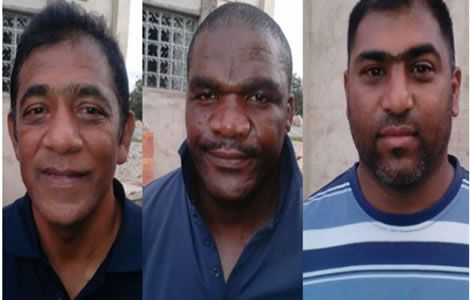 3 South Africans Arrested for allegedly engaging in activities that threaten the Nation's Security
