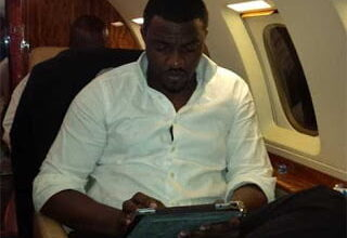 Photo of John Dumelo says he has plans of working on his ambitions to be President of Ghana