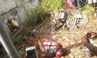 OneoffourrobbersShotdeadinattempttoescapeafterrobbingforexbureauatKaneshie - Video: One of four robbers Shot dead in attempt to escape after robbing forex bureau at Kaneshie