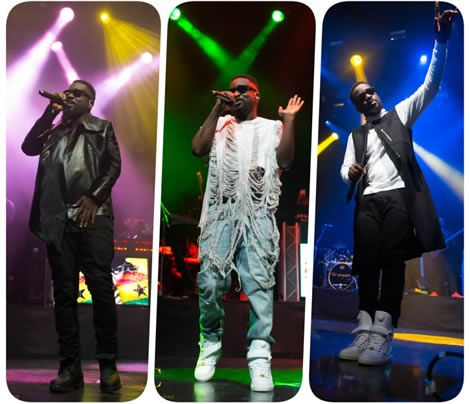 Photo of Photos: See What @Sarkodie wore to His concert @ 'Indigo O2 London', You will be shocked!