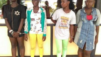 Photo of Girls Abr3 Female armed robbery Gang Busted in Kumasi