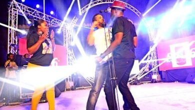 Photo of VIDEO: Majid Punches Kalybos on stage!