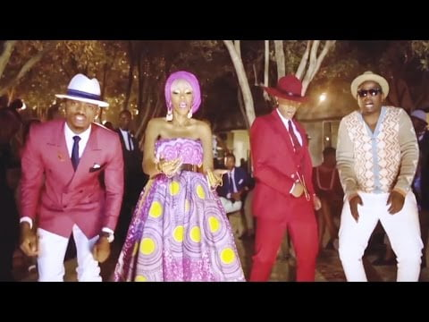 0 6 - Colors of Africa - Mafikizolo ft. Diamond Platnumz & Dj Maphorisa (Official Video)