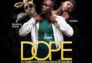 Photo of Dj XPLIPH ft. Flowking Stone – Medikal Dope (prod. by peewezel)