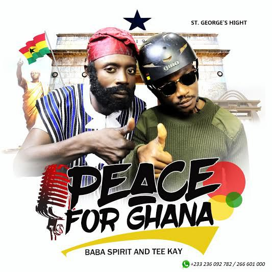 Baba Spirit - Peace For Ghana ft. Tee Kay (Prod by Kusilin)