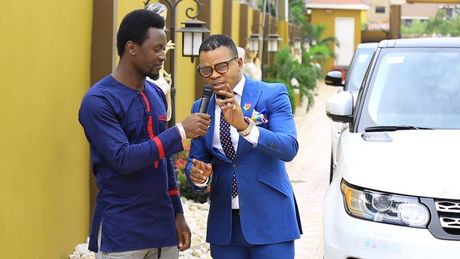 bishop obinim explains why he pu - Bishop Obinim explains why he punished children in church