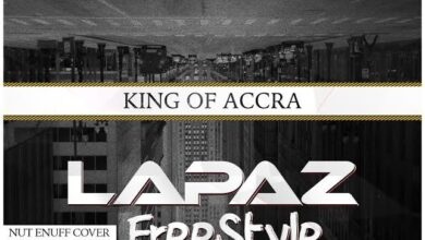 Photo of King of Accra – Lapaz Freestyle (Download mp3)