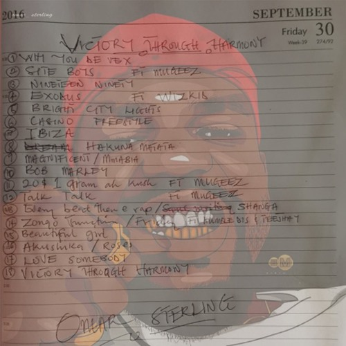 Omar Sterling ft Wizkid - Exodus (Prod. By Bali) (VTH Album)