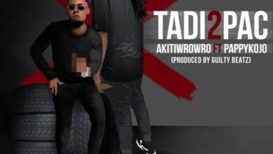 Photo of Akiti Wrowro – Tadi2Pac ft. Pappy Kojo (Prod By Guiltybeatz)