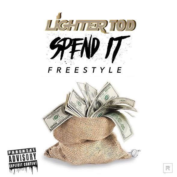 Lighter T.O.D Spend It Freestyle - Lighter T.O.D - Spend It Freestyle