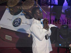 Musician OJ handcuffed at album launch - Musician OJ handcuffed at album launch