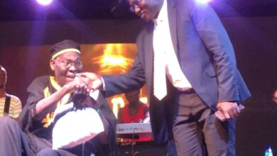 Photo of Papa Yankson gets Ghc 50k after escaping from his 'sick bed '